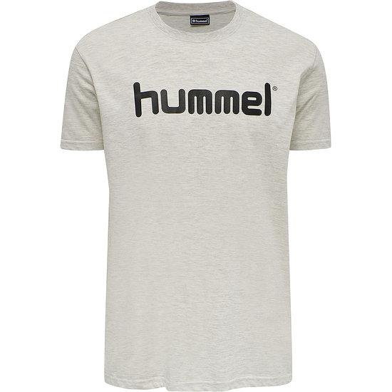 hummel T-Shirt Go Cotton Logo egret melange