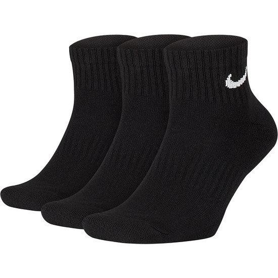 Nike Socken 3er Pack Knöchel Schwarz