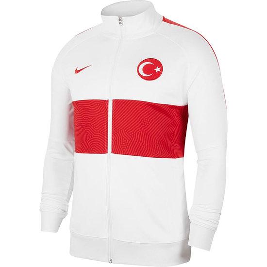 Nike Türkei Track Jacket EM 2021 Weiß