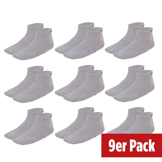 Kappa Socken Sneaker 9er Pack Grau