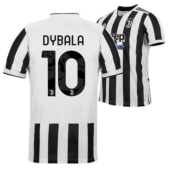 Adidas Juventus Turin Trikot DYBALA 2021/2022 Heim Kinder