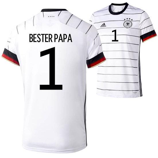 Adidas Deutschland EM 2021 DFB Trikot Heim - BESTER PAPA 1