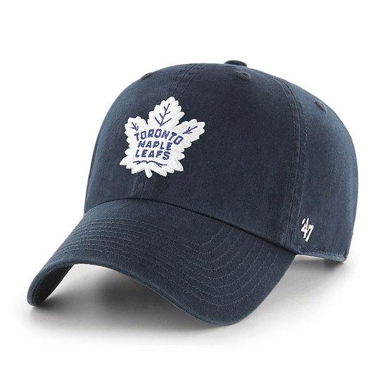 47 Brand Toronto Maple Leafs Cap Clean Up 47 navy