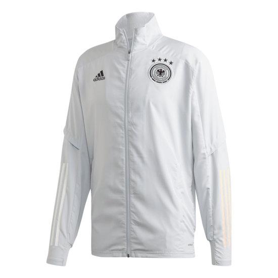 Adidas Deutschland DFB Präsentationsjacke EM 2021 Grau