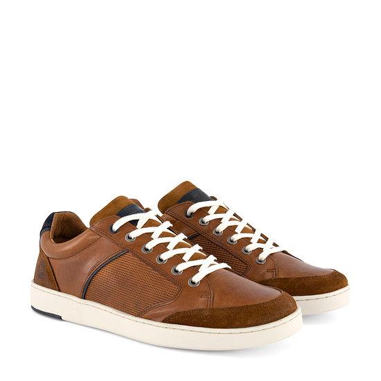 TRAVELIN OUTDOOR Sneaker Shirlett cognac