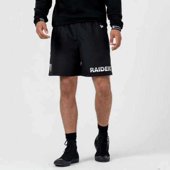 New Era Las Vegas Raiders Shorts Team Logo & Wordmark schwarz
