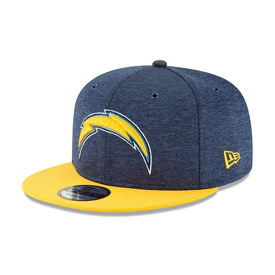 New Era Los Angeles Chargers Cap 9FIFTY Sideline blau