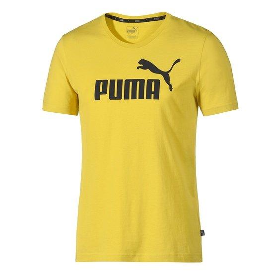 Puma T-Shirt ESS No.1 Gelb