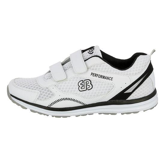 Brütting Laufschuh Performance V weiß/schwarz