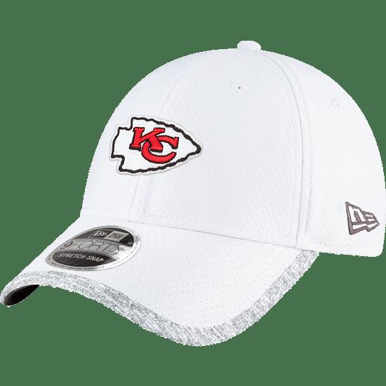 New Era Kansas City Chiefs Cap Super Bowl 55 Sideline 9FORTY weiß