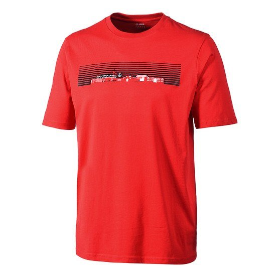 Jako Bayer 04 Leverkusen T-Shirt Skyline rot