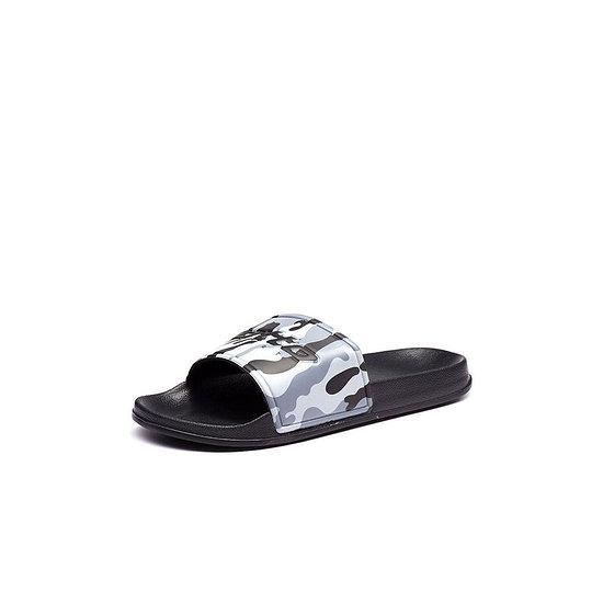 Lotto Badeschlappen Oceania Camo Slide black/gray/asphalt