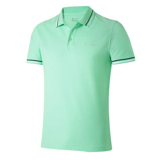 Lotto Poloshirt Classica grün/weiß