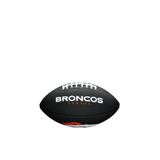 Wilson Denver Broncos Football Mini Team Logo schwarz