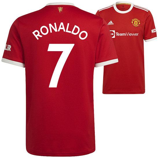 Adidas Manchester United Heim Trikot RONALDO 2021/2022