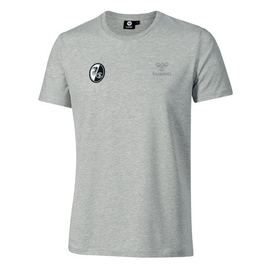 hummel SC Freiburg T-Shirt Jaxon grau
