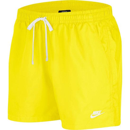Nike Freizeit- und Badeshorts Gelb