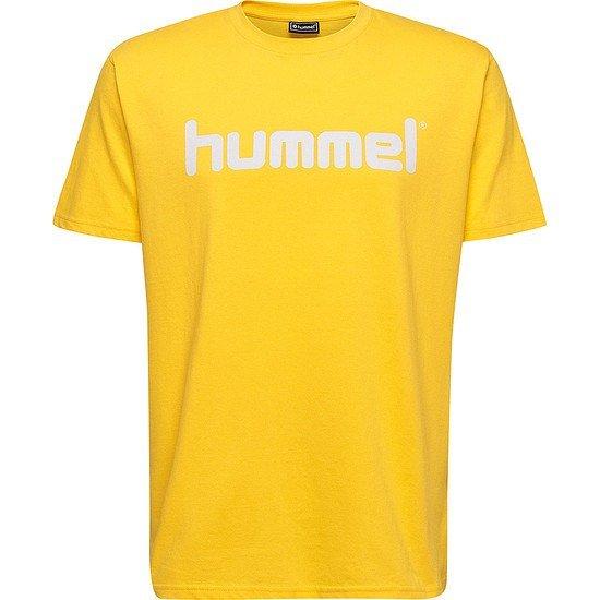 hummel T-Shirt Go Cotton Logo gelb
