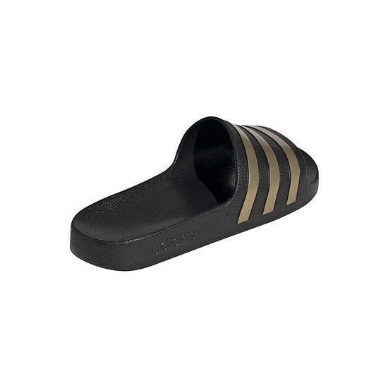 Adidas Badesandale ADILETTE AQUA Schwarz/Gold