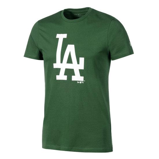 New Era Los Angeles Dodgers T-Shirt Seasonal Team Logo grün