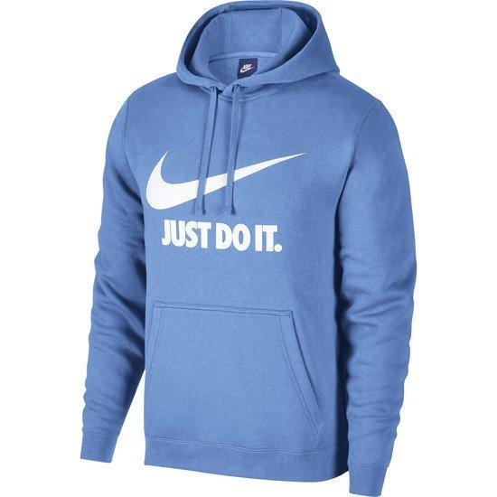 Nike Hoodie Sportswear Hellblau/weiß