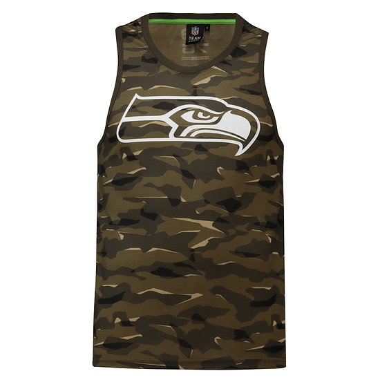 Fanatics Seattle Seahawks Tanktop Digi Camo khaki