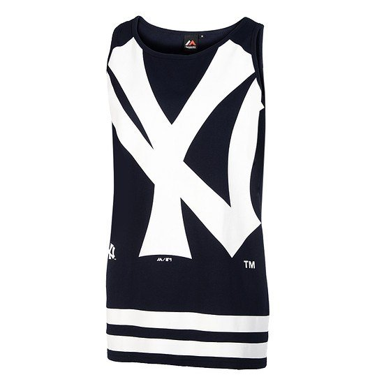 Majestic Athletic New York Yankees Tanktop Large Graphic navy