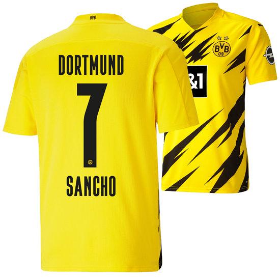 Puma Borussia Dortmund Heim Trikot SANCHO 2020/2021 Kinder