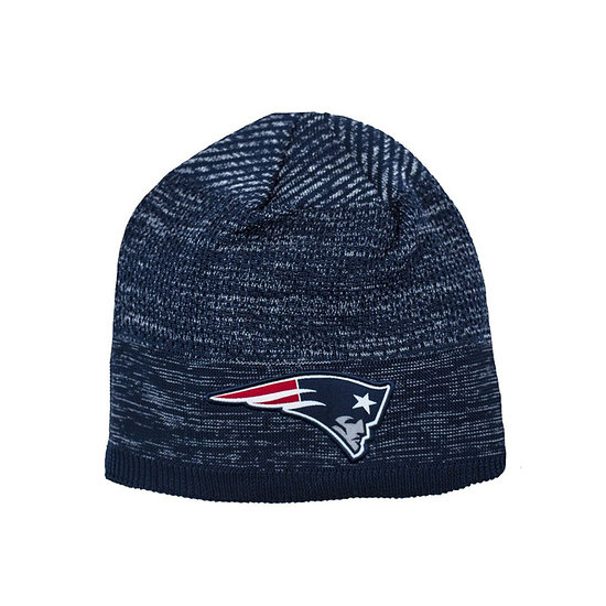 New Era New England Patriots Beanie On Field Tech Knit blau