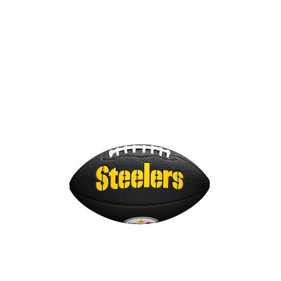 Wilson Pittsburg Steelers Football Mini Team Logo schwarz