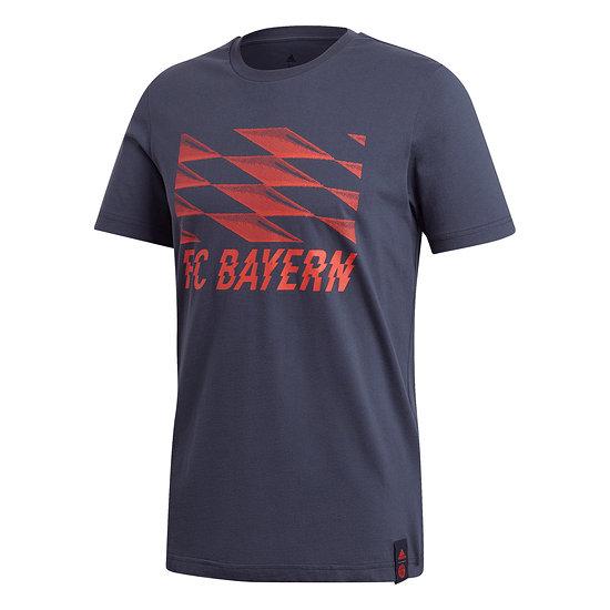 Adidas FC Bayern München T-Shirt Blau