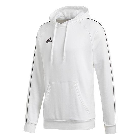Adidas Hoodie Core 18 Weiß