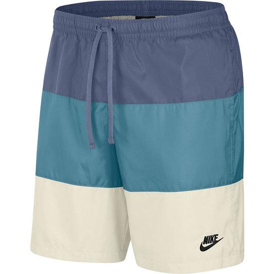 Nike Freizeit- und Badeshorts 3S Blau/Azur/Weiß