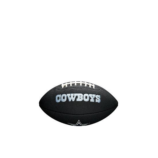 Wilson Dallas Cowboys Football Mini Team Logo schwarz