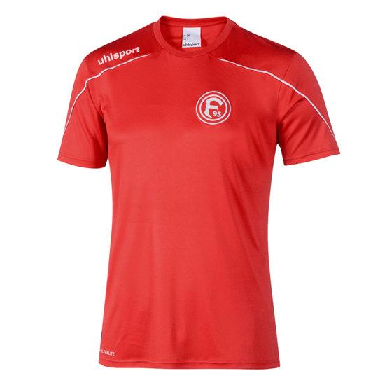uhlsport Fortuna Düsseldorf Training Shirt Sport rot/weiß