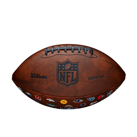 Wilson Football NFL 32 Team Logo Junior braun