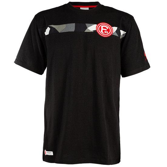 uhlsport Fortuna Düsseldorf T-Shirt Freizeit schwarz