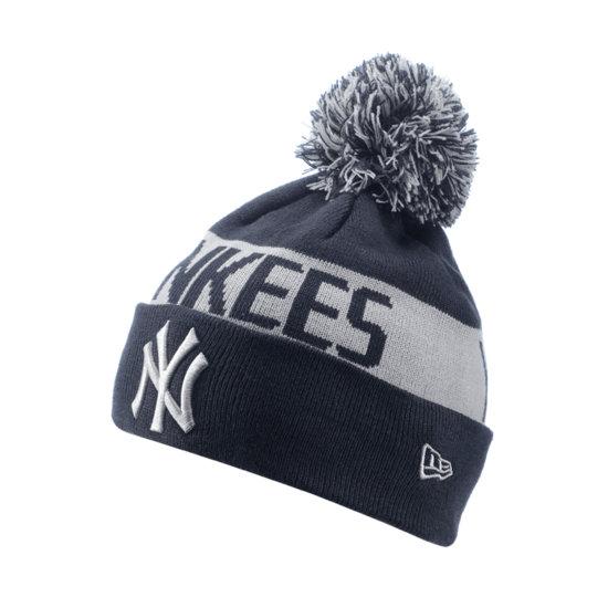 New Era New York Yankees Beanie Team Tonal Knit blau