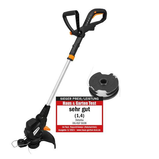 DELTAFOX Elektro-Rasentrimmer DG-EGT 5028 schwarz/orange