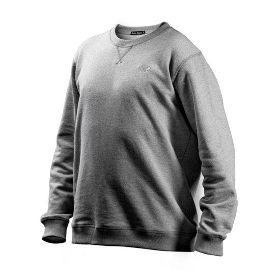 Cotton Butcher Sweatshirt Alabama Rundhals grau