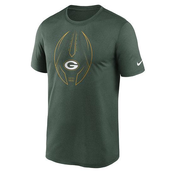 Nike Green Bay Packers T-Shirt Icon Legend grün