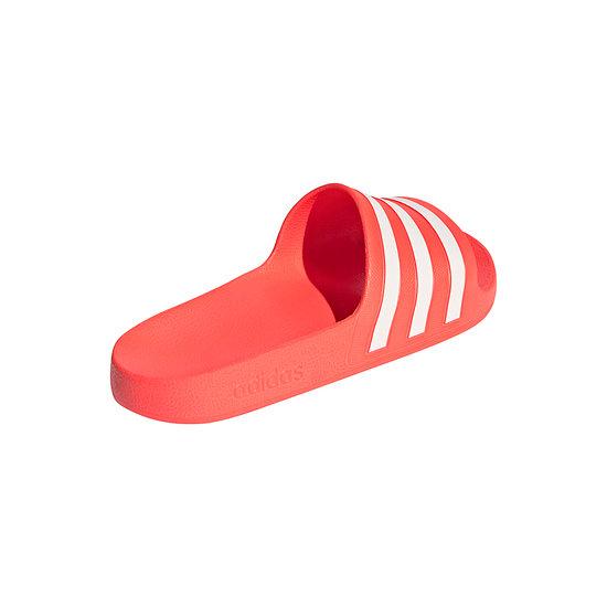 Adidas Badesandale ADILETTE AQUA Rot/Weiß