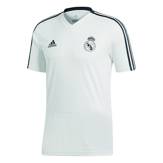 Adidas Real Madrid Trainingsshirt Weiß