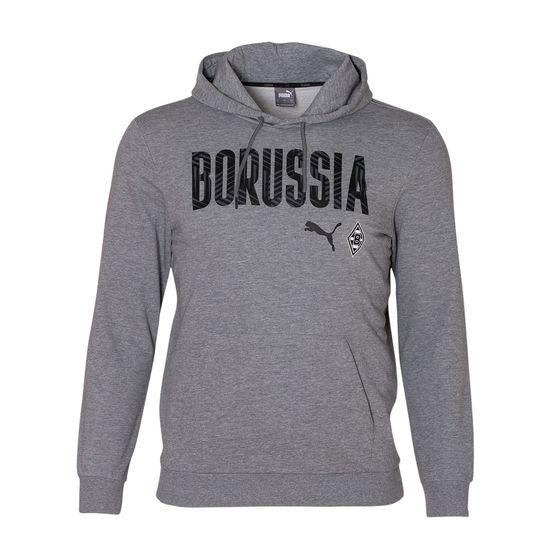 Puma Borussia Mönchengladbach Hoodie BORUSSIA 2020/2021 Grau