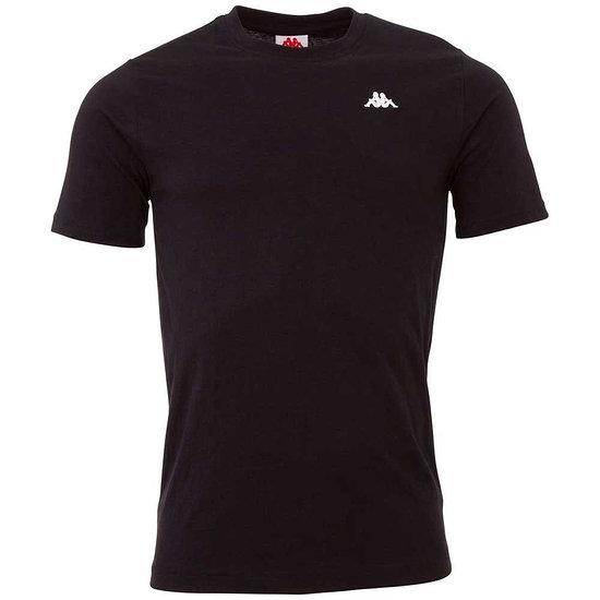 Kappa T-Shirt VEER Schwarz