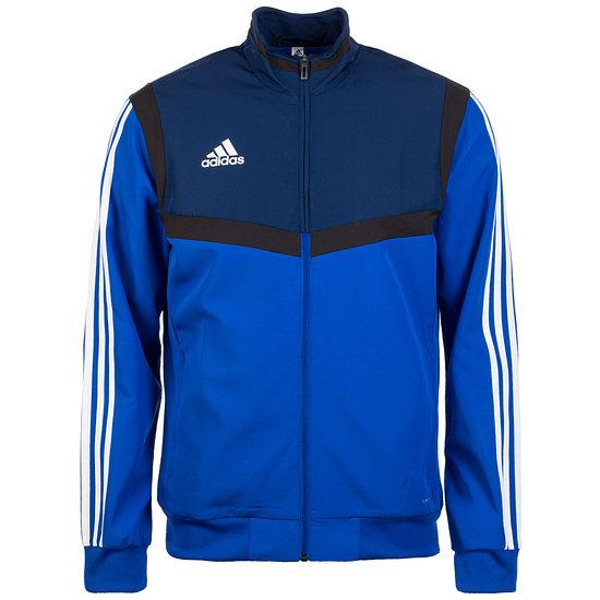 Adidas Fitness-Jacke Tiro 19 Blau