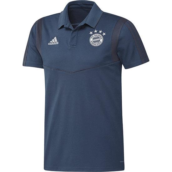 Adidas FC Bayern München 3S Polo Shirt Blau