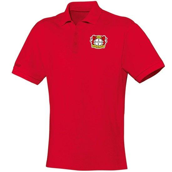 Jako Bayer 04 Leverkusen Poloshirt TEAM Rot