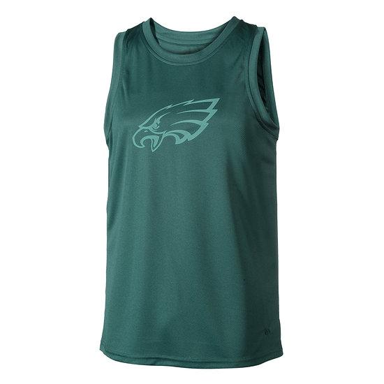 New Era Philadelphia Eagles Tanktop Tonal Logo blau