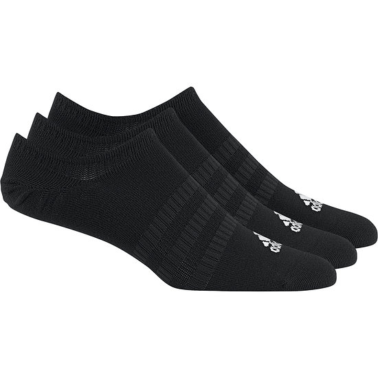 Adidas Sportsocken 3er Pack No Show Schwarz